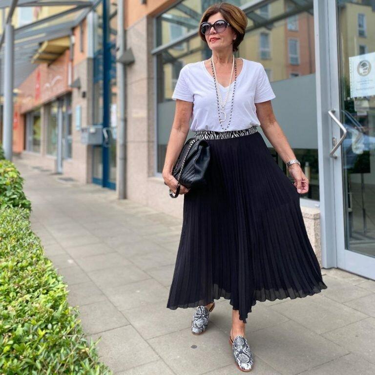 10 стильных советов от Эвелины Хромченко на лето для женщин 50+