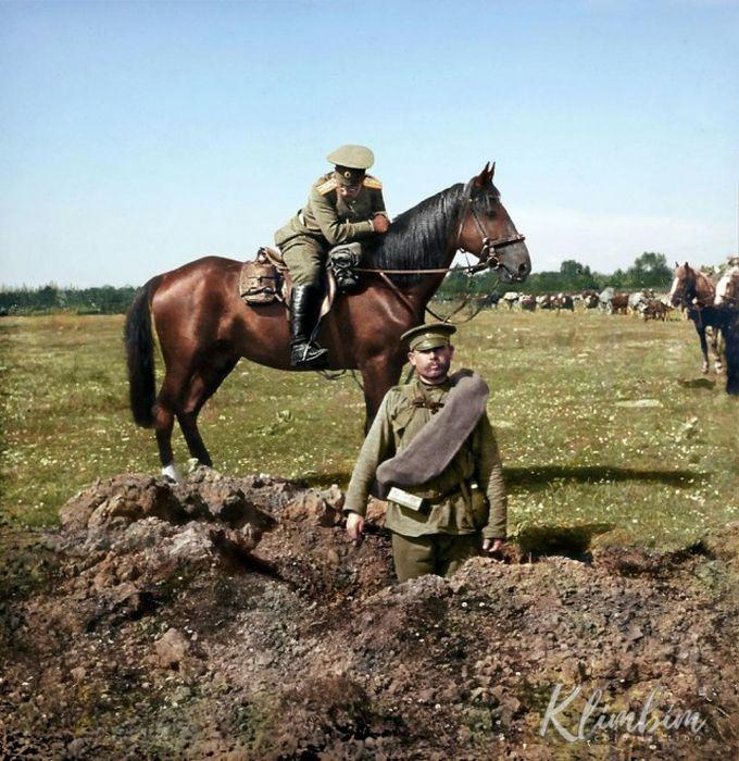 Колоризированные исторические фотографии.