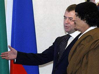2011 год - время, когда мы дружили с Западом. Медведев объявил Каддафи персоной нон грата