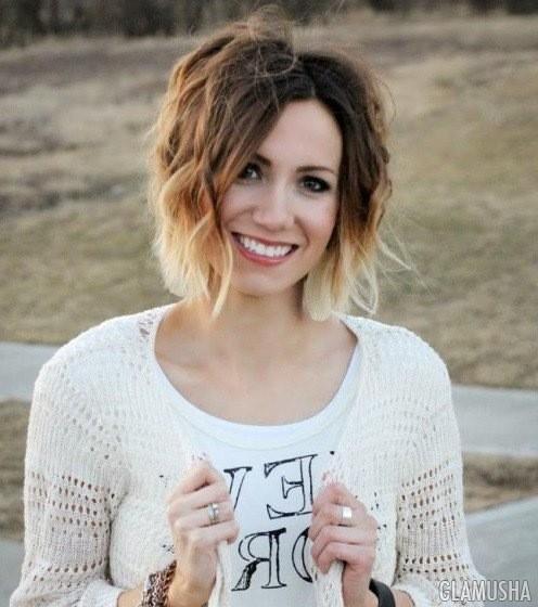 20 идей омбре для причесок с короткими волосами