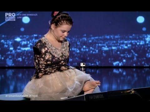 Эта девочка потрясла своим выступлением не только свою родную Румынию, но и думаю весь мир..