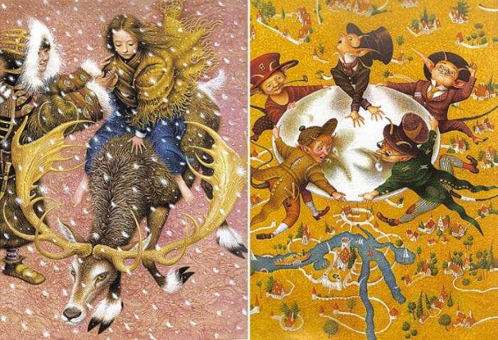 Когда в сердце живёт сказка: потрясающие иллюстрации украинского художника Владислава Ерко