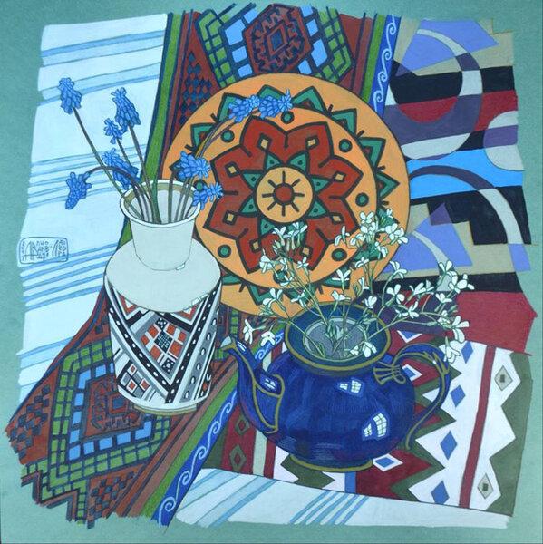 Современная российская живопись. Необычные натюрморты Анны Владимировой-Лавровой