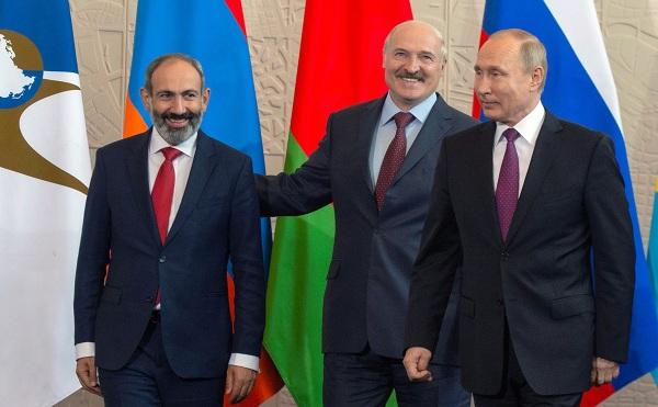 Пашинян приедет вМоскву, чтобы дать старт председательству Армении вЕАЭС