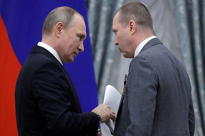 Миронов передал Путину письмо в поддержку Серебренникова