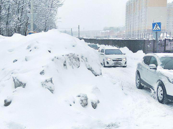 Во время «снегопада века» автомобилисты стали чаще сбивать людей на пешеходных переходах