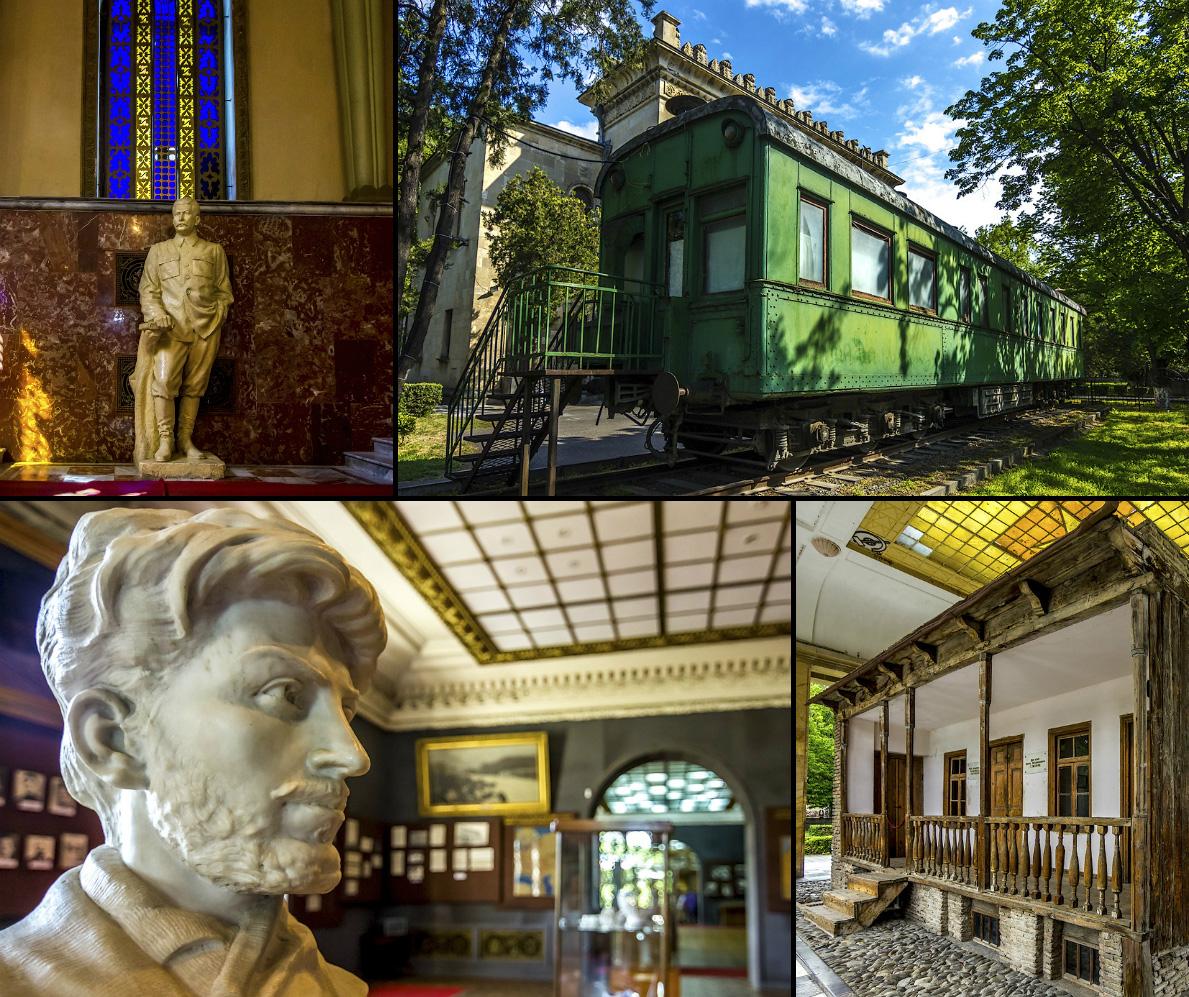 Музей Сталина  в Гори :  очень подробно