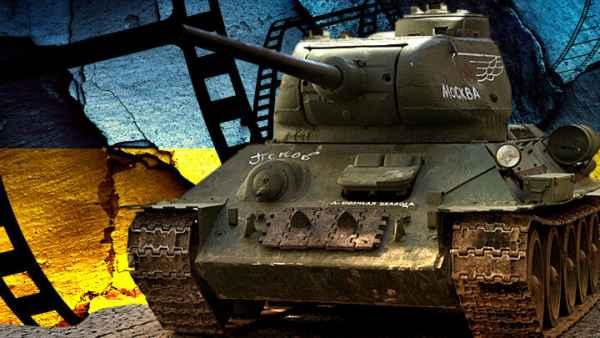Как «Т-34» намотал на гусени…