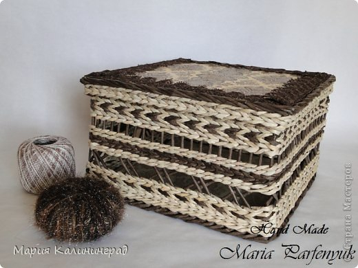 Очень красивые плетенки из газет от Марии Калининград (26) (520x390, 154Kb)