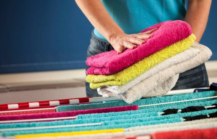 Простой способ сделать махровые полотенца опять мягкими