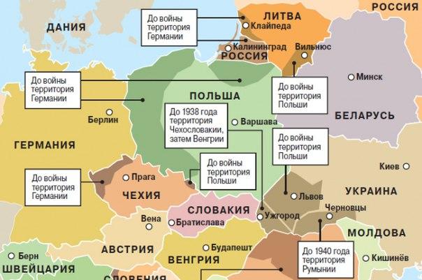 Неблагодарная Европа: нет желания вернуть, что подарил Вам дядюшка Сталин ?