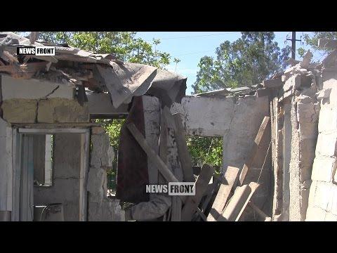 Докучаевск пережил страшную ночь. Последствия украинского обстрела