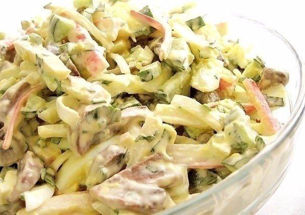 Замечательный салат «Алёнка». Оригинально и вкусно!