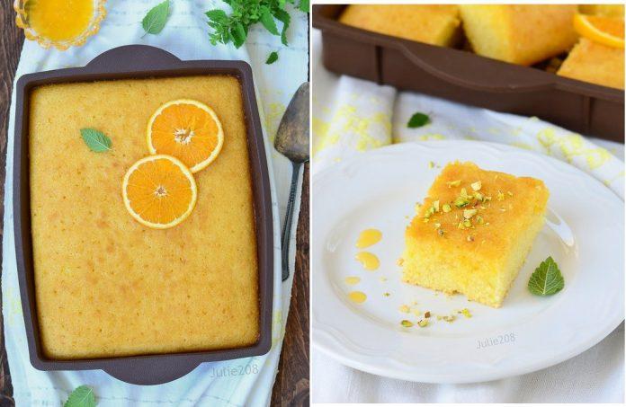 Греческий апельсиновый пирог «Ревани»: сочный, рассыпчатый и просто тает во рту!