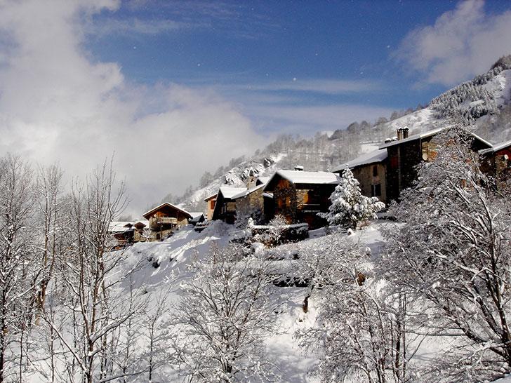 Уютное шале для тихих зимних праздников