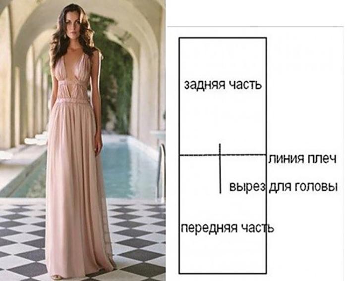 Как сшить вечернее платье для начинающих