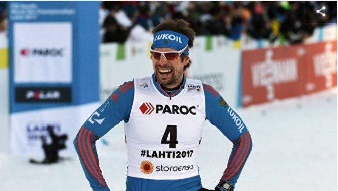 Устюгов одержал победу в скиатлоне на ЧМ по лыжным видам спорта