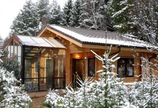 Советы по строительству бани в зимний период