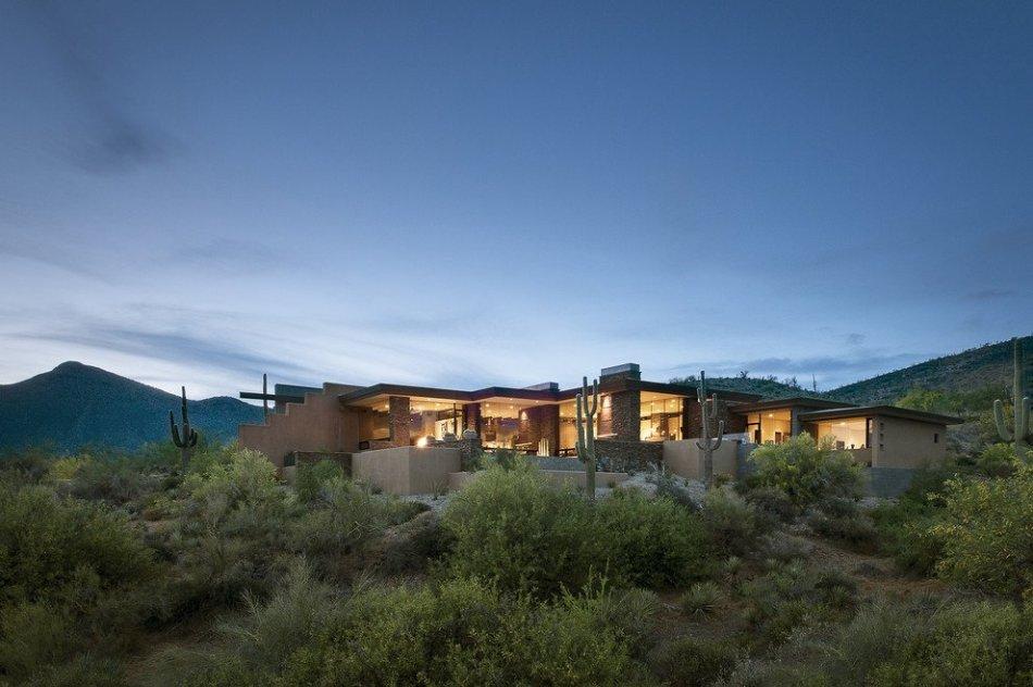 Резиденция Пасс в пустыне Аризоны