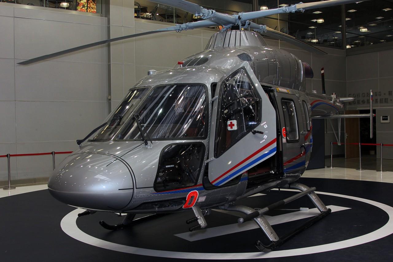 «Вертолеты России» передали Ансат VIP первому частному эксплуатанту