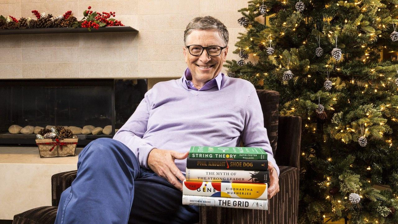 Билл Гейтс назвал 5 лучших книг, прочитанных им в 2016 году