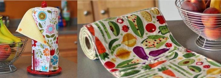 Полотенца кухонные в рулоне