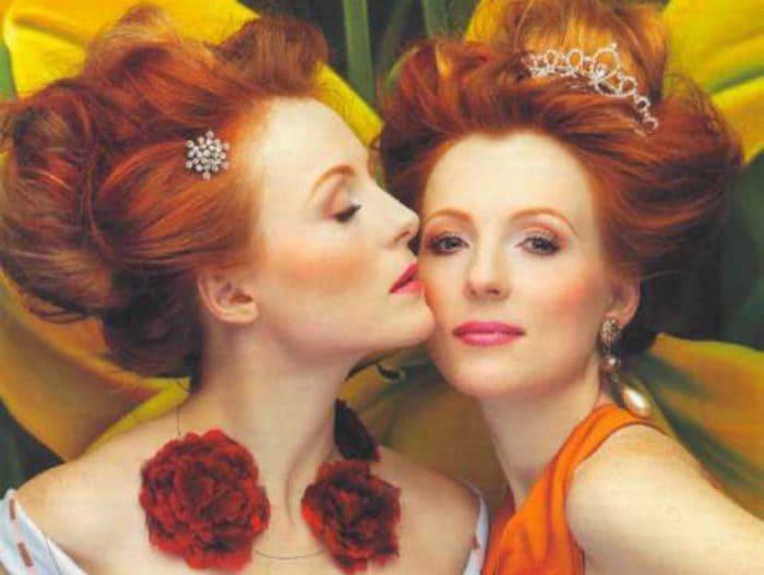 Знаменитые актрисы, сестры-близнецы Кутеповы   Фото: livestory.com.ua
