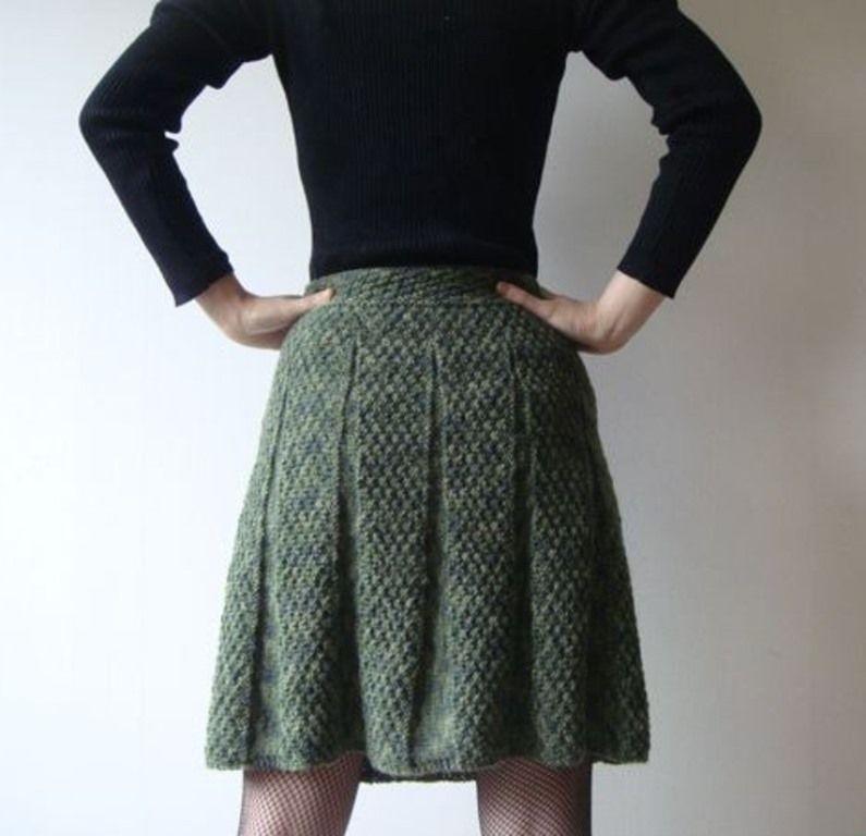 Как вязать юбку расклешенную юбку