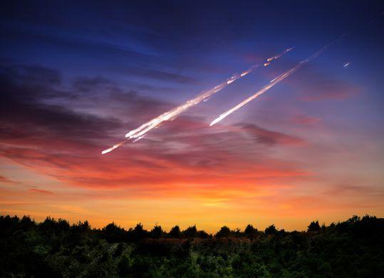 НЛО упало в самый центр России