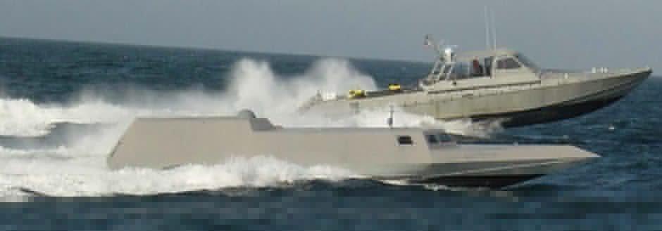 Тяжелый боевой катер SEALION II сил специальных операций США