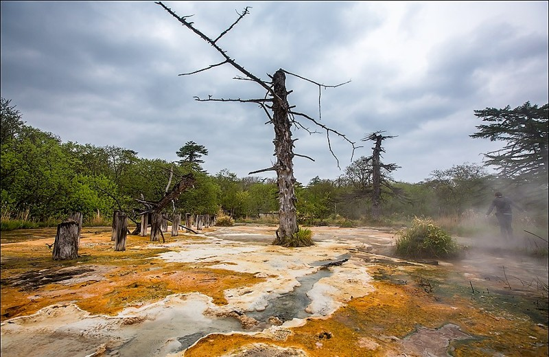 Сероводородный ад на Итурупе