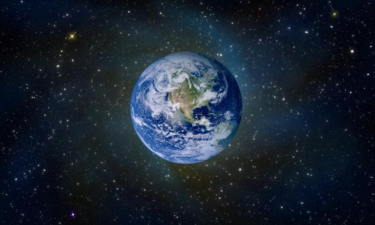 Правильная карта мира