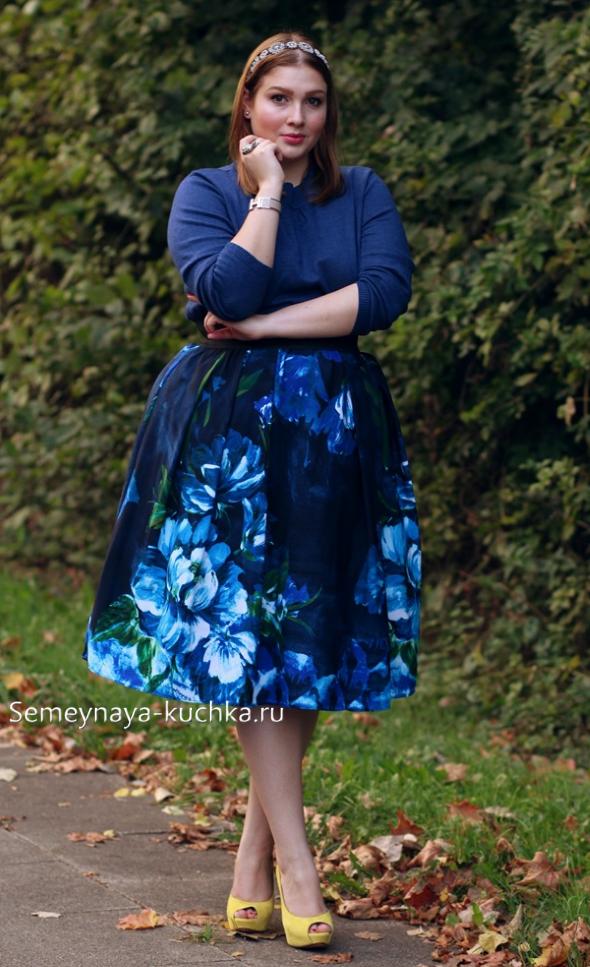как одеваться стильным полным женщинам