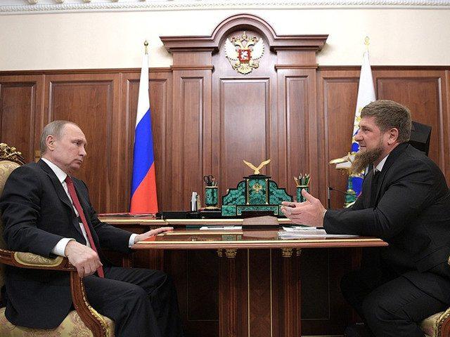 Кадыров пожаловался Путину на «провокационные статьи» о Чечне