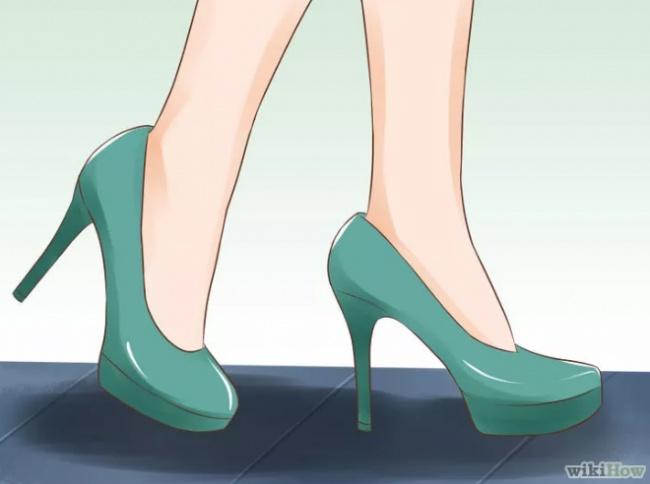 Искусство ходить на каблуках