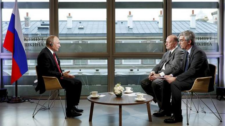 Журналист Le Figaro рассказал, как готовили интервью с «царём всея Руси»