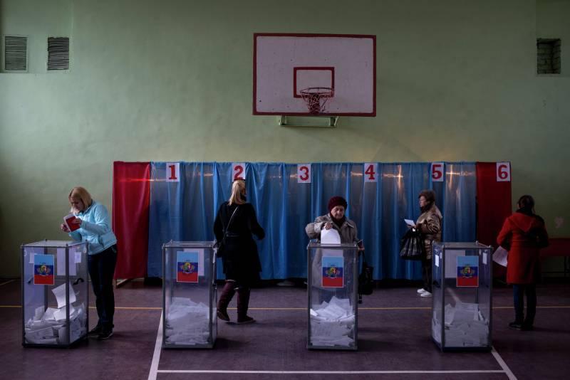 Запад боится выборов на Донбассе