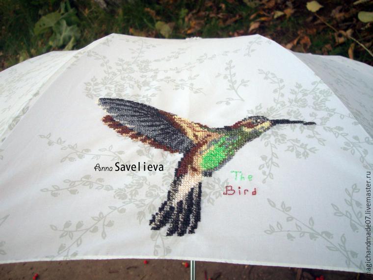 "Преображаем зонтик Ñ Ð¿Ð¾Ð¼Ð¾Ñ‰ÑŒÑŽ вышивки, фото â""– 7"