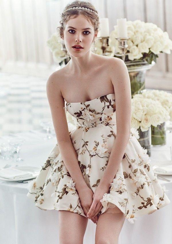 Самая большая свадебная тенденция 2017: короткие платья