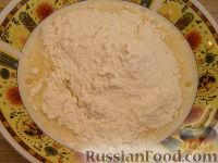 Фото приготовления рецепта: Хоткейки - американские оладьи на молоке - шаг №4