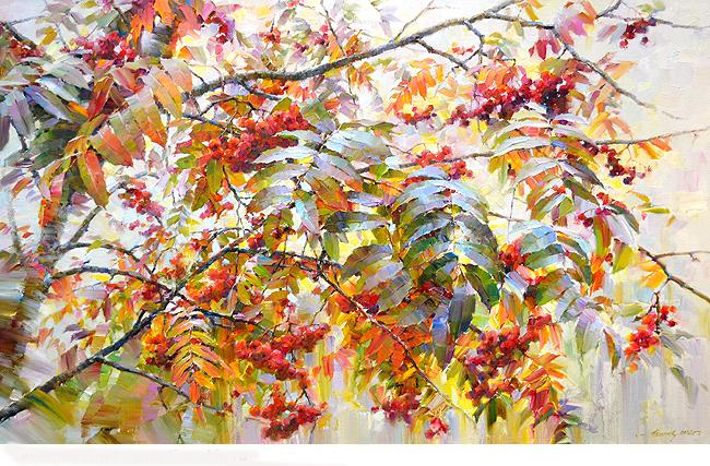 Удивительной красоты акварели Олега Тимошина. Они просто чудесные!