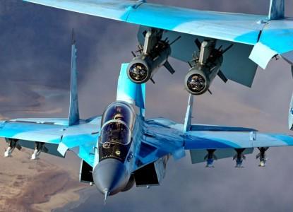 Испытания двух модификаций МиГ-35 сняли на видео