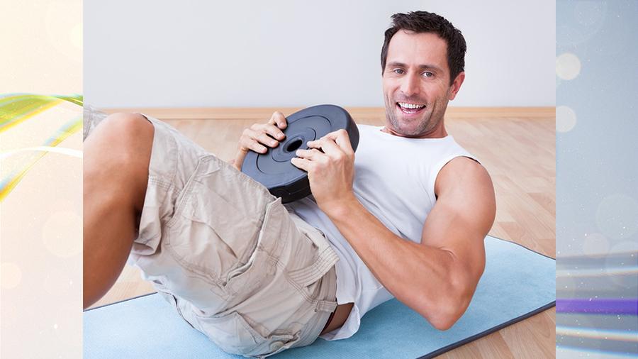 Фитнес с блином