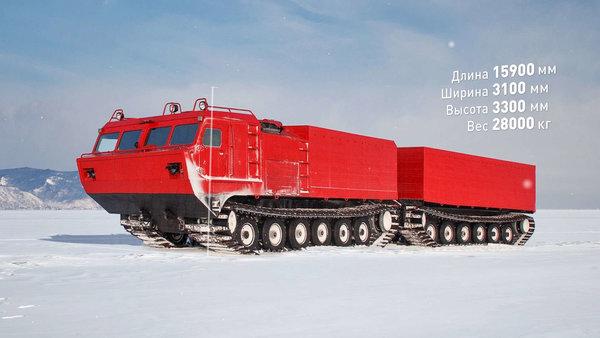 Иностранцы о вездеходе ДТ-30: «огромное уважение к российским инженерам, они порой творят чудеса!»