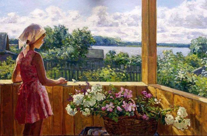 художник Ирина Рыбакова картины – 20