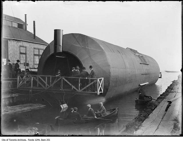 Экспериментальное судно Knapp Roller Boat (Канада)