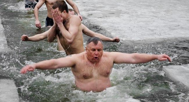 Крещение. Анекдоты