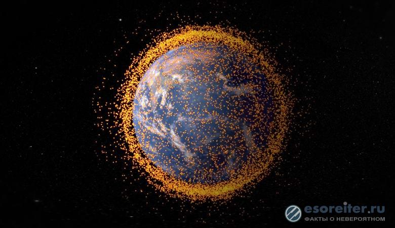 Инопланетян можно найти ориентируясь на космический мусор возле их планет
