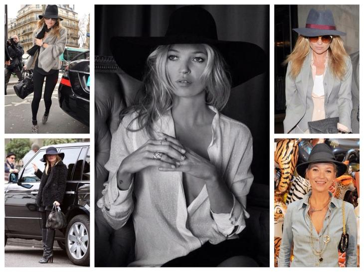 Шляпы Кейт Мосс