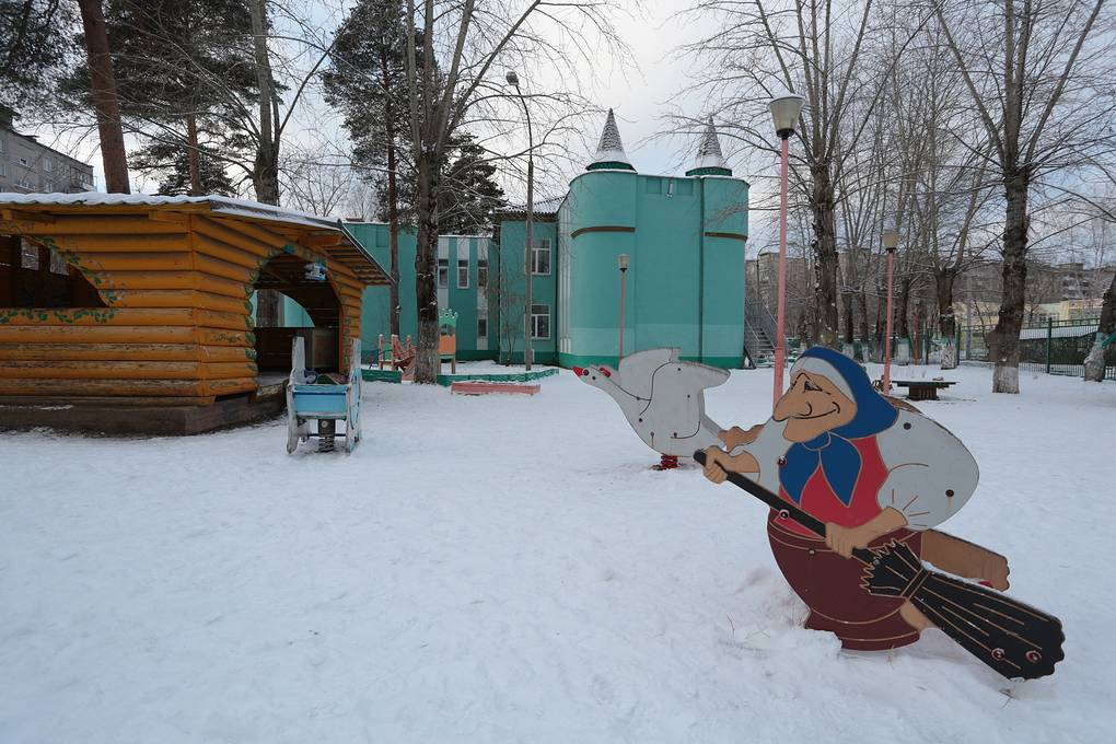 Детский сад №233 Максим Кимерлинг/ТАСС